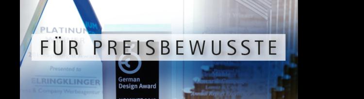 Kreativpreise und Awards