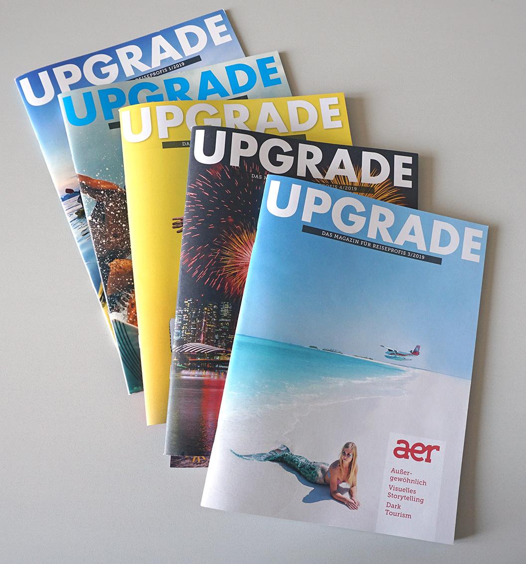 """Weitere Ausgaben der """"UPGRADE"""" sind fertiggestellt."""