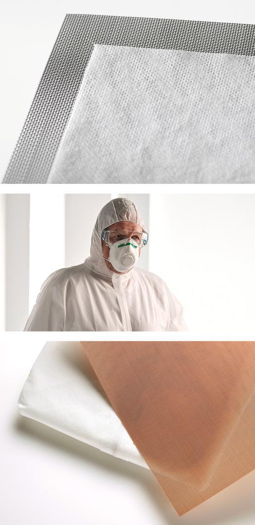 Die Produkte unseres Kunden Siebfabrik tragen zum Corona-Schutz bei.