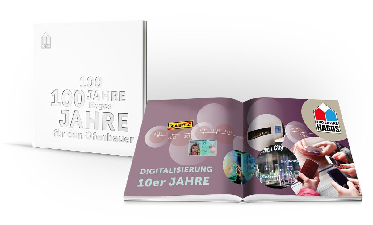 Zum 100-jährigen Jubiläum der Hagos eG hat Lorenz & Company zusammen mit dem Unternehmen ein Buch erstellt.