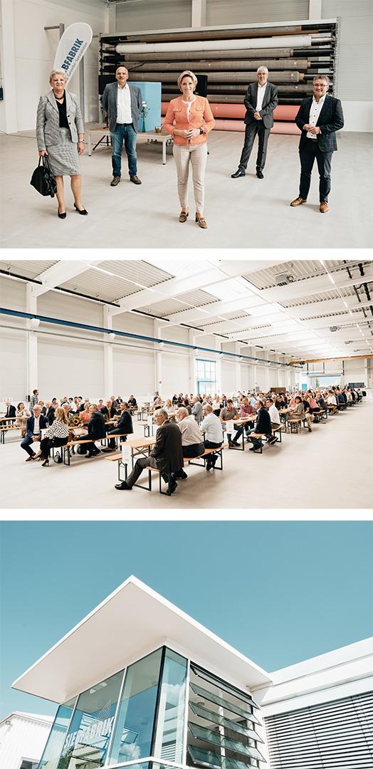 Lorenz & Company gratuliert seinem Kunden Siebfabrik zur Einweihung seiner neuen Produktionshallen.
